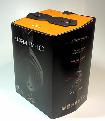 Vmoda M-100 packaging