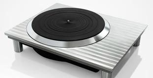 the new technics turntable